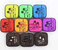 Wholesale Quality New Fabric XIAOMI Piston Earphone Headphone Headset White Gold with Mic for MI2 MI2S MI2A Mi1S Phones
