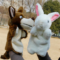 Wholesale New Arrival Hand Puppets Plush Simulation Animals Hand Puppets for Kid Child Gifts Learning Aid Toy