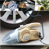 auto acces - Vehicle mounted multi function vacuum cleaner Tyre Air Pump Vacuum Cleaner LED Lighting Air Pressure Gauge Auto safety essential Auto Acces