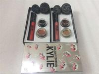 Wholesale New Kylie Holiday Edition Set Kit Lipgloss Eyeliner Eyeliner Creme Eyeshadow Kylie Christmas Gift Set Kylie Holiday Kits