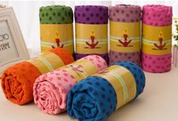 best exercise mats - Best selling water absorbing antislip yoga plankets Pilates Mat Cover Blanket Sport Fitness Exercise microfiber environmental protection