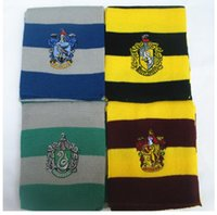 beautiful colleges - quot Harry Potter quot Scarf Gryffindorslai Lynn Ravenclaw College Badge High quality warm and beautiful winter preferred Factory Outlet