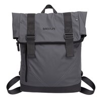 Wholesale BESTLIFE Waterproof Soft PU Backpack With Laptop Sleeves Cool Urban City Bag For Teenager Men