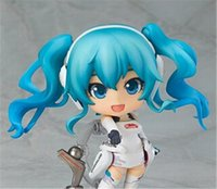 big motorsport - Gzcj Anime PVC cm Motorsport Hatsune Miku Q version Collection Toys Dolls action figure