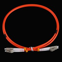 Wholesale High Quality Fiber Optic Equipment Accessories M LC to LC Fiber Jumper Cable Duplex mm MM LC LC Standard Patch Cord