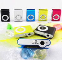 best price micro sd cards - So cute colors Mini Clip MP3 player with earphones usb cables retail box support Micro SD TF card GB Sport Metal mp3 Best price