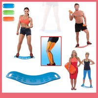 abs yoga - Shipping Free Simply Fit Board Fitness Balance Board Professional Blue Orange Green Purple Body Shaper Yoga Plate