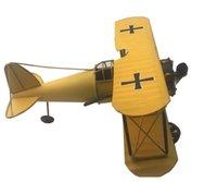 Wholesale LNL Antique Handmade Airplane Model Fighter Aircraft Glider Biplane Plane Models Toy