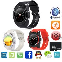 Wholesale V8 Smart Watch Clock With Sim TF Card Slot Bluetooth Connectivity for Android Phone Smartwatch Watch