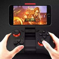Precio de Pc joystick-2017 MOCUTE inalámbrico Gamepad Bluetooth 3.0 Joystick controlador de juegos para Iphone y Android Teléfono Tablet PC portátil