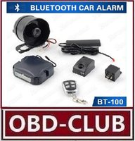 Arrival 50m Control Distance audi valet - 2017 Newest Arrival m Control Distance PKE Bluetooth Gps Tracker Car Alarm with Valet Mode Car Alarm for Universal v Cars