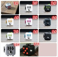 Wholesale Decompression Toys Fidget cube the world s first American original decompression anxiety Toys Best Christmas Gift Z1