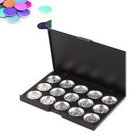 aluminium makeup case - mm Empty Cosmetic Pan Makeup Aluminium Case Empty Palette Pan Magnetic Empty Palette For Eyeshadow