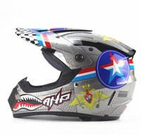 Wholesale Colorful Motorcycle Helmets Off Road Helmet ATV Dirt Bike Downhill MTB DH Racing Helmet Cross Helmet of Motorcycle Accessories