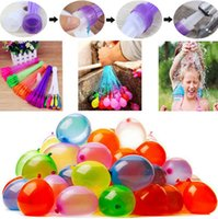 Wholesale 3 Packs Magic Balloons Bunch Water Balloons Bombs Toys Kids Summer Water toys balloon each bunch with Transverter KKA1541