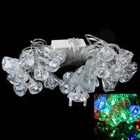 ac structure - EU Plug M W Christmas Flash LED RGB Light Masonry Structure Lamp String Translucent V pc free freight