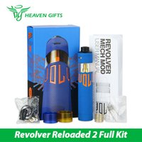 atom systems - ATOM Revolver Reloaded Mechanical MOD Kit Powered by x Battery Unique patented liquid filling system DRIPT Original