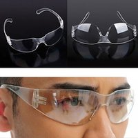 Wholesale Wholsale Safety Goggles Vented Glasses Eye Protection Clear Protective Lab Anti Fog High Quality Easy Taking