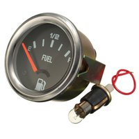 auto fuel level sensor - New mm Mechanical Auto Car Fuel Level Gauge Yellow Light Without Sensor E F Pointer V