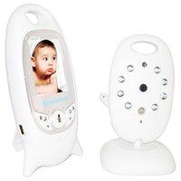 Grossiste - Professionnel VB601 Baby Monitor 2.4G sans fil caméra vidéo moniteur avec écran LCD Vision nocturne musicale pour les soins des enfants bébé