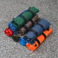air pillows - Randomly Automatic Inflatable Air Cushion Pillow Portable Outdoor camping Travel equipment