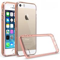 Pour Iphone 5s Transparent Transparent Hybride pare-choc Anti-chocs Accessoires pour téléphone iphone 5s 6 6S 6plus