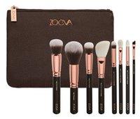 Wholesale New Zoeva Rose Golden Complete Brush Kit Genuine Quality Makeup Brush Sets Goat Hair Brushes