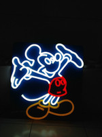 Wholesale CE ROHS Battery Powered Neon Sign mickey mouse Led Neon Sign