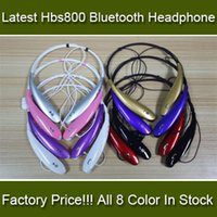 Wholesale Factory Price HBS800 HBS HBS HBS HBS902 Wireless Bluetooth sports headsets headphone necksets for samsung S5 S6 iphone plus