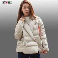 Wholesale 2016 New Women s Winter coats and jackets High quality Cotton Down Parkas Jacket for Female Short jacket abrigo mujer invierno