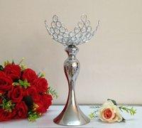 2017 nouvelle annonce fournitures hôtel accessoires de mariage 45 cm argent plaqué Mermaid chandelier chandelier boule de cristal LLFA