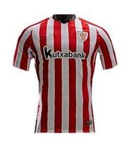 Men athletic windbreaker - Top Quality La liga Athletic Bilbao Home Away Soccer jerseys SUSAETA GURPEGUI MUNIAIN Maillot de foot Football shirts