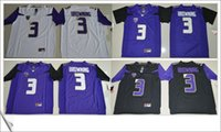 american football team jerseys - American personalized Cheap College Football team final patch Embroidery Mens Pro Jerseys online Washington Huskies Jake Browning