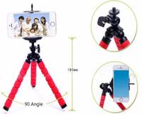 Wholesale Mini Portable Flexible Sponge Octopus Tripod Stand Mount With Holder For Phone Gopro Camera Tripode for Nikon d3300 d3200 DSLR