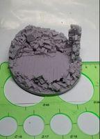 architectural model figures - WW2 model scene accessories architectural model material Resin floor ruins Model Kit figure