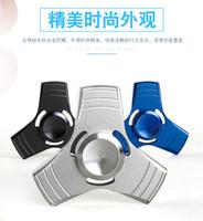 Precio de Bolas de rodamiento-Fidget Spinner HandSpinner Manos Spinner dedo EDC juguete para descompresión ansiedad metal rodamiento de bolas de cerámica EDCfree DHL UPS TNT