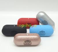 Mini Size Pill xl 2.0 Haut-parleur Bluetooth Portable sans fil TF Carte USB FM Radio Lecteur de musique lecteur de voiture appel mains libres MIC pour iPhone Samsung
