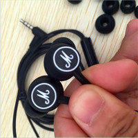 Wholesale Marshall Mode EQ Pro Hi Fi In ear headphones deep bass Stereo music earphones support mic for moblie phone pc laptop