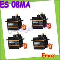 analog servo control - Remote Control Parts Accs orginal x EMAX ES08MA II Mini Metal Gear Analog Servo g kg Sec Mg90S