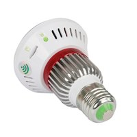access outdoor lighting - HD720P WiFi Mirror Bulb P2P IP Network DVR Camera with W warm light output and integration with wireless sensors wireless alarm sensors