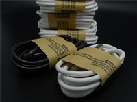 Wholesale 1M Micro USB Cables OD3 Data Sync Charger Cable Data Line For Android Phone White And Black Color DHL Free