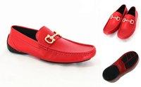 Precio de Hombres zapatos nuevos estilos-2017 Moda ocasional al por mayor del cuero genuino del estilo de la manera nueva !! ¡La mejor calidad caliente !! Zapatos de los hombres de los zapatos de los hombres de los zapatos de los hombres