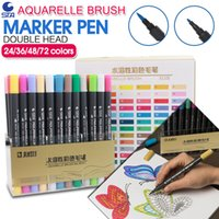 Wholesale STA Colors Artist Double Headed Markers Set Soft Head Design Paint Sketch Manga Copic Markers Pen for Art Supplies