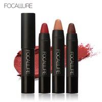 Wholesale DHL Acetery Professional Makeup Long Lasting Cosmetic Beauty Lip Gloss Lipstick Colors Gold Matte Line Pen Lip Balm FA
