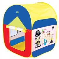 baby lodge - Colorful Cartoon Kids Play Tent Play Game House Indoor Outdoor Toy Tent Children Baby Beach Tents Gift for Children Lodge House