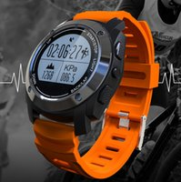 Arabic auto reminder - Outdoor GPS Sport Smart Watch for GPS Biking Running and Walking with Heart rate Pressure Environment temperature Height Auto LAP
