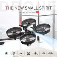 Wholesale Newest JJRC H36 Mini Drone G CH Axis Gyro D Flip Headless Mode One Key Return Anti Crush UFO RC Quadcopter RTF Helicopter