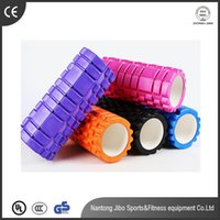 Wholesale Hot Sale Colors x14cm Yoga Fitness Equipment EVA Yoga Gym Pilates Fitness Exercise Foam Roller