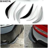 auto bumper protection - Car Bumper Anti rub Strips Front Corner Lip Scratches Protection Universal External Decoration Auto Accessories Car styling