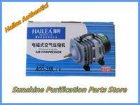70L / min 45W Hailea ACO-318 Compressor de ar eletromagnético Aquário Air Pump Fish Tank Aumento Oxygen + frete grátis